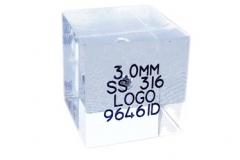 Tester per metal detector CUBE 20x20x20mm
